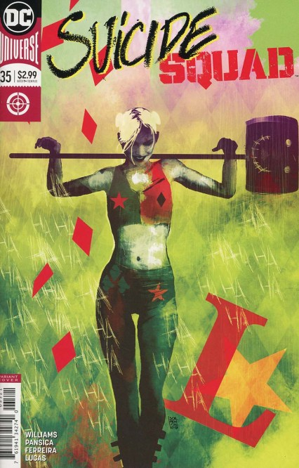 Suicide Squad Vol 4 #35 Cover B Variant Andrea Sorrentino Cover