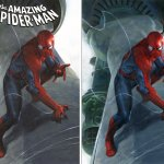 SCOTT'S COLLECTABLES AMAZING SPIDER-MAN DELL'OTTO VARIANTS!!