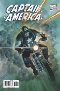Captain America Vol 8 #700 Cover G Incentive Alex Ross Variant Cover