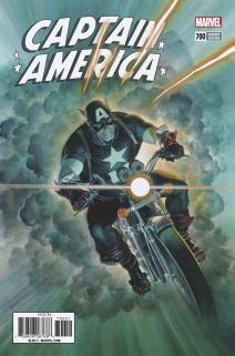 Captain America Vol 8 #700 Cover G Incentive Alex Ross Variant Cover