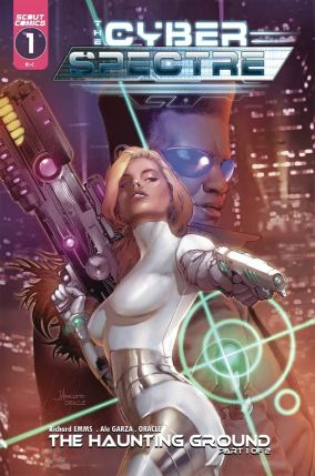 Cyber Spectre #1 Cover C Variant Jay Anacleto Cover