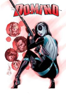 Domino Vol 3 #1 Cover G Incentive J Scott Campbell Variant Cover