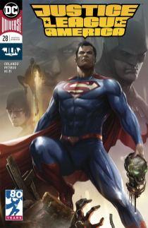Justice League Of America Vol 5 #28 Cover B Variant Francesco Mattina Cover