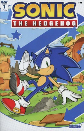 Sonic The Hedgehog Vol 3 #1 Cover E Incentive Kieran Gates Variant Cover