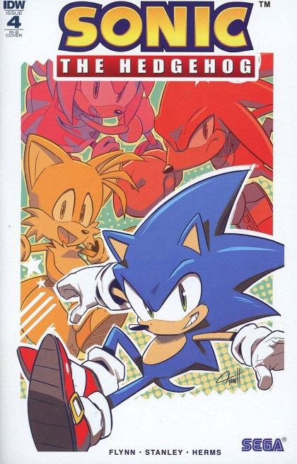 Sonic The Hedgehog Vol 3 #4 Cover D Incentive Tyson Hesse Variant Cover