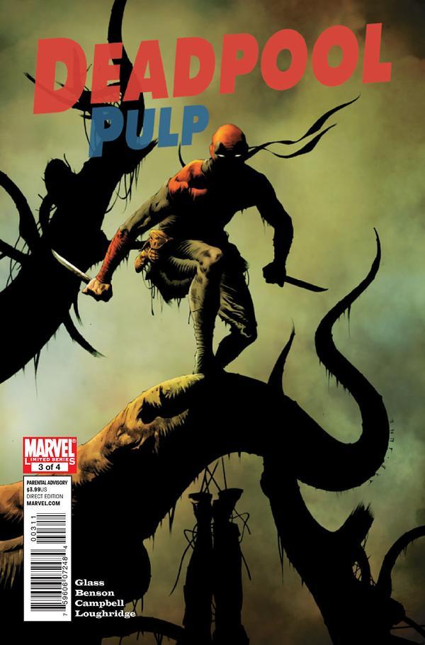 Deadpool Pulp #3 – Lee