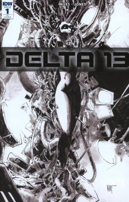 Delta 13 #1 Cover B Incentive Nat Jones Sketch Cover