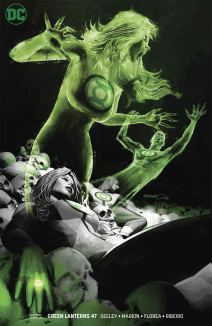 Green Lanterns #47 Cover B Variant Brandon Peterson Cover