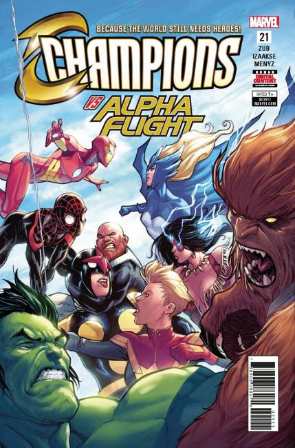 Champions (Marvel) Vol 2 #21