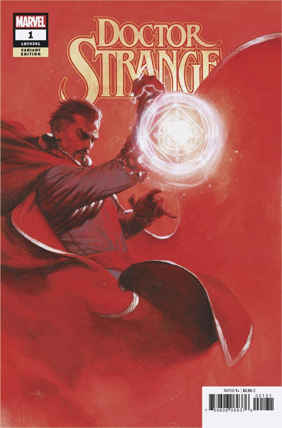 Doctor Strange Vol 5 #1 Cover D Incentive Gabriele Dell Otto Variant Cover