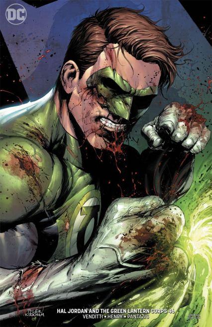 Hal Jordan And The Green Lantern Corps #46 Cover B Variant Tyler Kirkham Cover