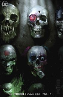 Suicide Squad Vol 4 #43 Cover B Variant Francesco Mattina Cover