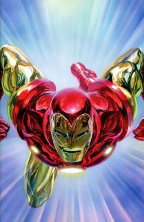 Tony Stark Iron Man #1 Cover Z-B Incentive Alex Ross Virgin Variant Cover