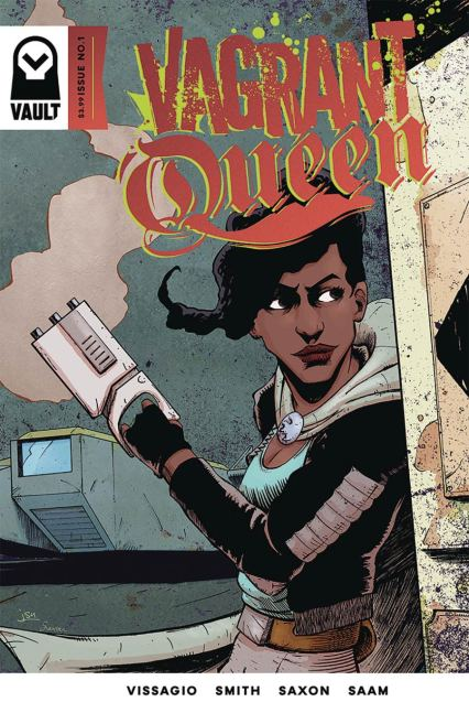 Vagrant Queen #1 Cover A Regular Natasha Alterici Cover