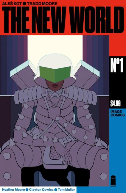 New World #1 Cover A Regular Tradd Moore & Heather Moore Cover