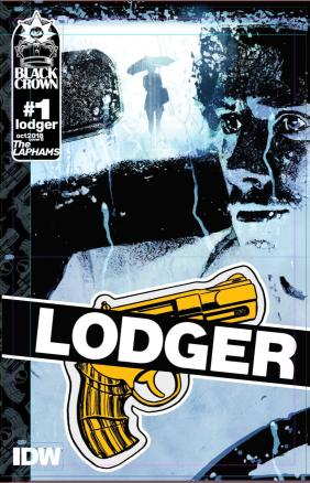 Lodger #1 Cover B Incentive Bill Sienkiewicz Variant Cover