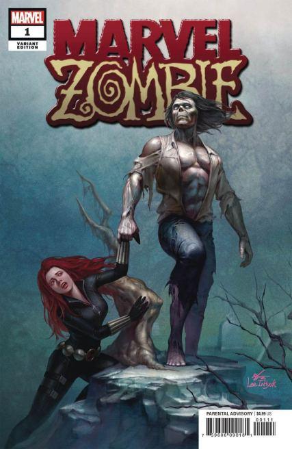 Marvel Zombie #1 Cover B Variant In-Hyuk Lee Cover