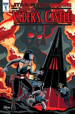 Star Wars Adventures Tales From Vaders Castle #1 Cover D Incentive Derek Charm Variant Cover