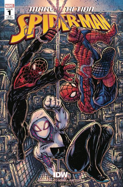 Marvel Action Spider-Man #1 Cover C Incentive Kevin Eastman Variant Cover