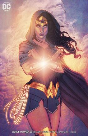 Wonder Woman Vol 5 #58 Cover B Variant Jenny Frison Cover