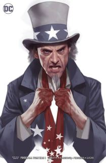 Freedom Fighters Vol 3 #1 Cover B Variant Ben Oliver Cover