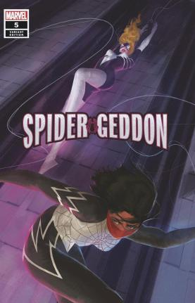 Spider-Geddon #5 Cover D Incentive Vanessa Del Rey Variant Cover