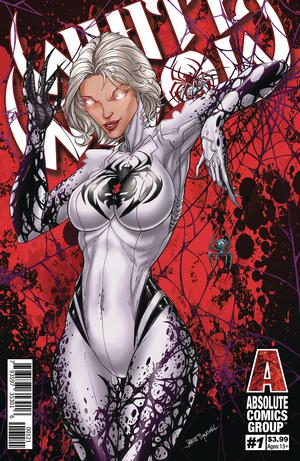 White Widow #1 Red Foil Variant