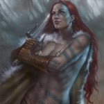 Scott's Collectibles RED SONJA #1 Parillo Variant Contest