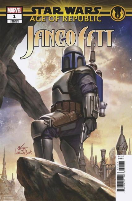 Star Wars Age Of Republic Jango Fett #1 Cover B Variant In-Hyuk Lee Cover