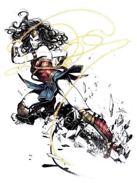 Wonder Woman Vol 5 #63 Cover B Variant Kamome Shirahama Cover