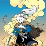 CBSI GIVEAWAY : USAGI YOJIMBO #1 SLAB CITY COMICS EXCLUSIVE VIRGIN VARIANT
