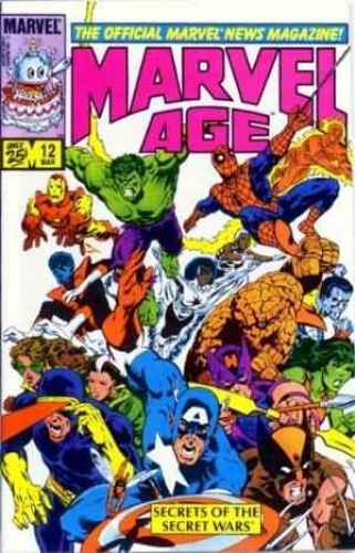 Marvel Age 12 Cover