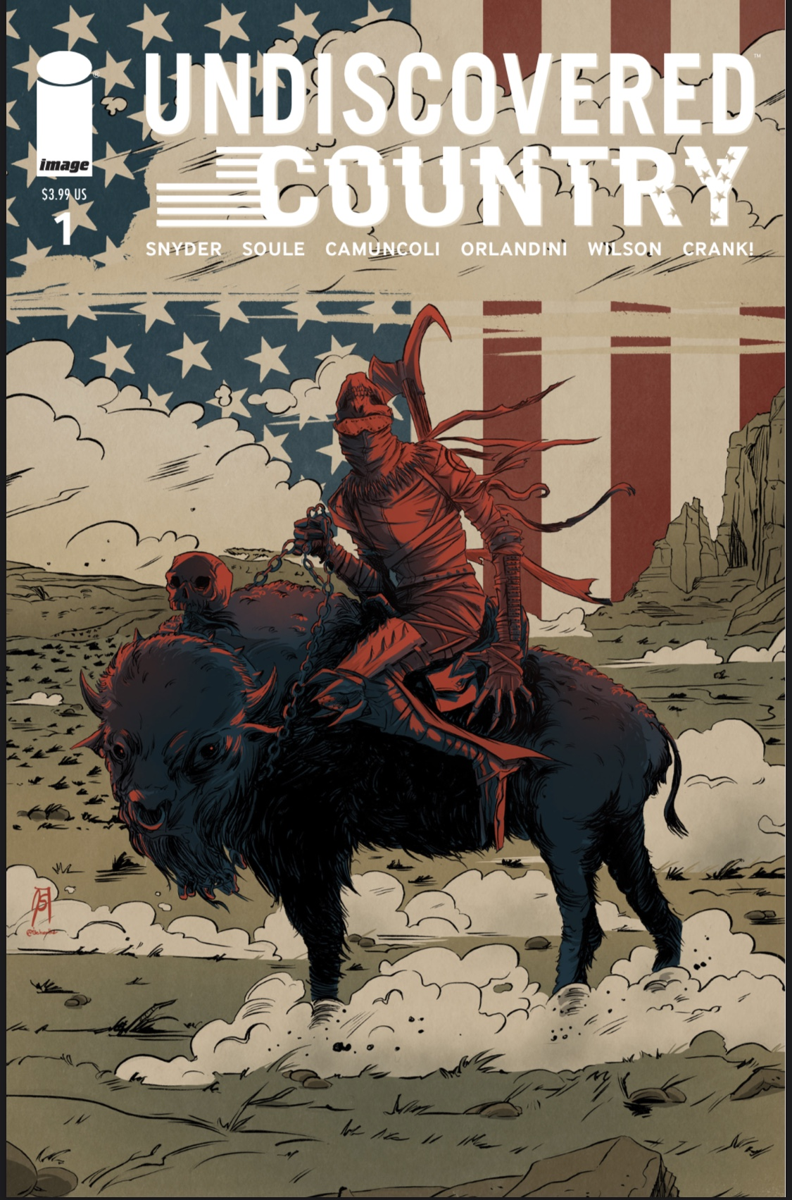 1st Print Cover B 2019 Image Comics Undiscovered Country #1