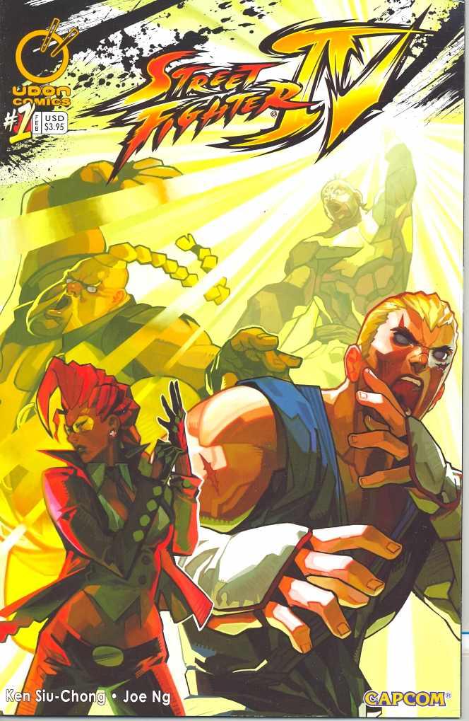 Street Fighter IV #1
