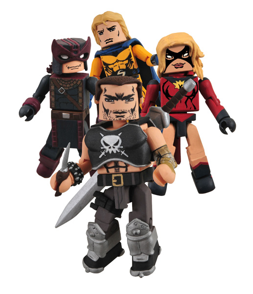 Dark Avengers Minimates