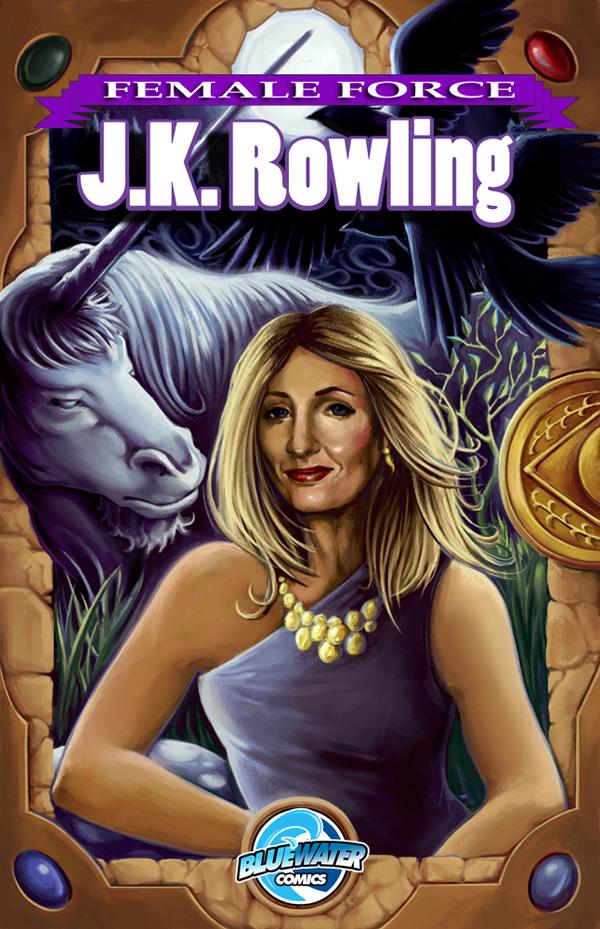J.K Rowling Comic