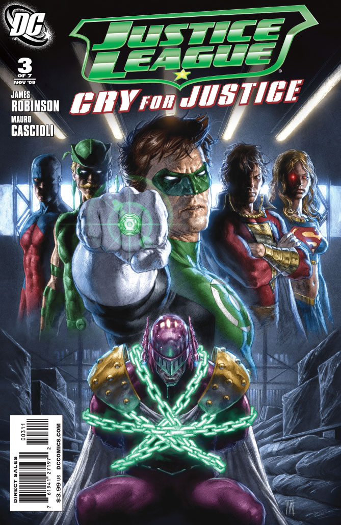 Cry For Justice #3 Cover