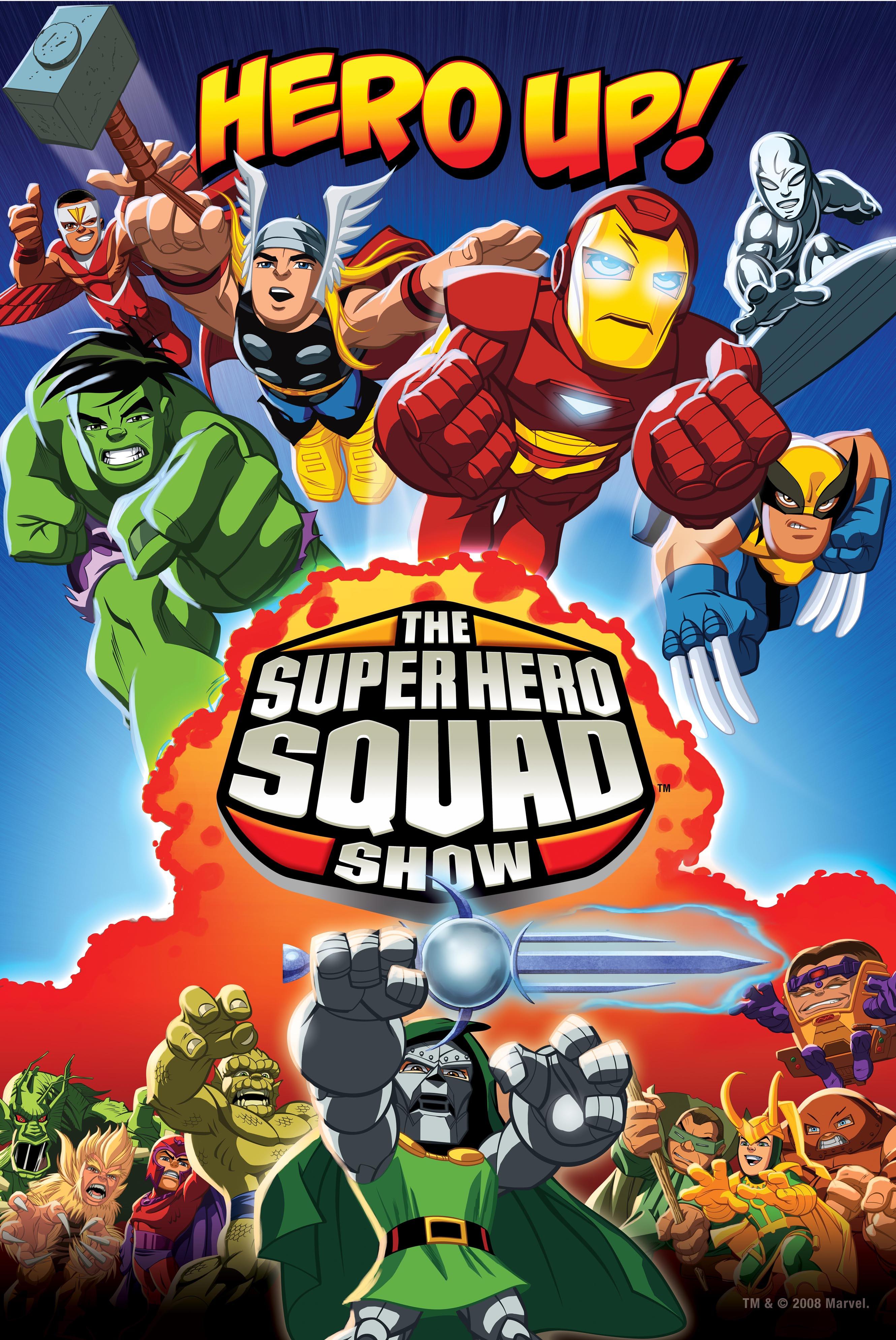 SuperHeroSquadShow