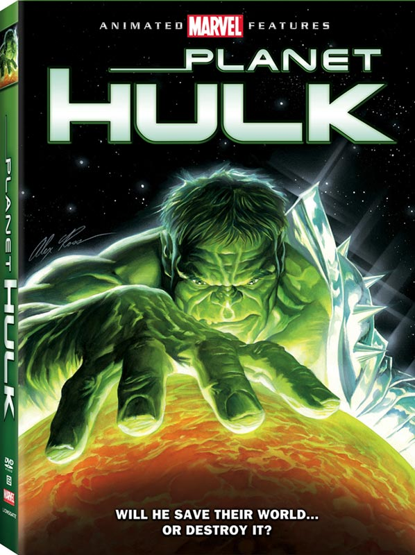 Planet Hulk DVD Art