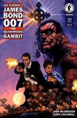James Bond 007 The Quasimodo Gambit 1 Dark Horse Comics