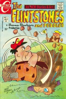 flintstones comic strip
