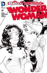 WONDER WOMAN #47 – Amanda Conner Ink