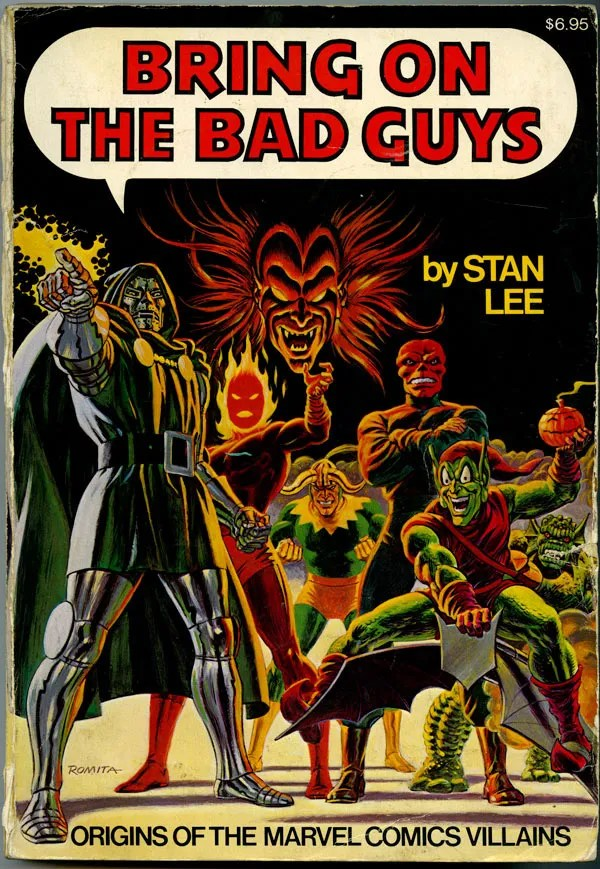 Cover to Bring on the Bad Guys by John Romita