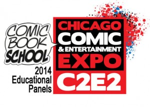 C2E2 logo CBS