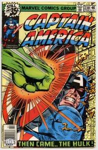Captain America 230 cover