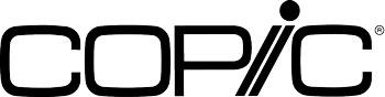 Copic Marker Logo Black 350 x 88