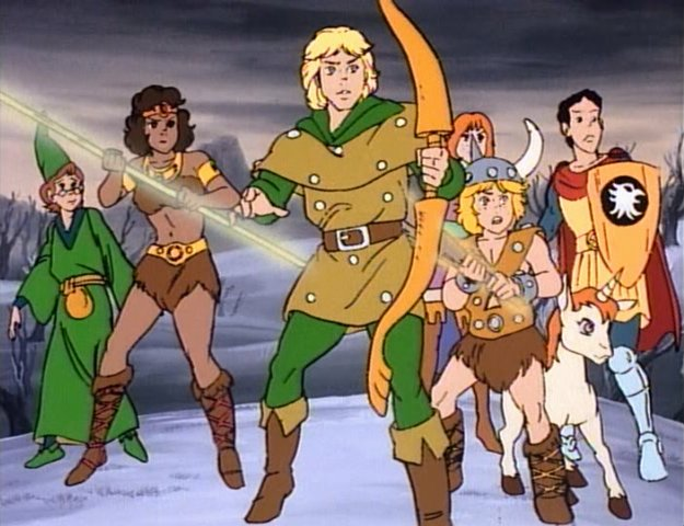 4. Dungeons and Dragons