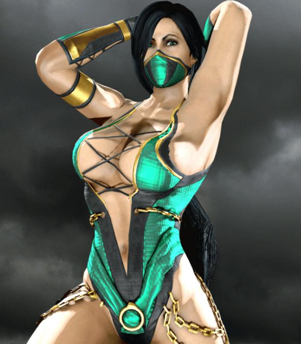 Jade Mortal Kombat Female