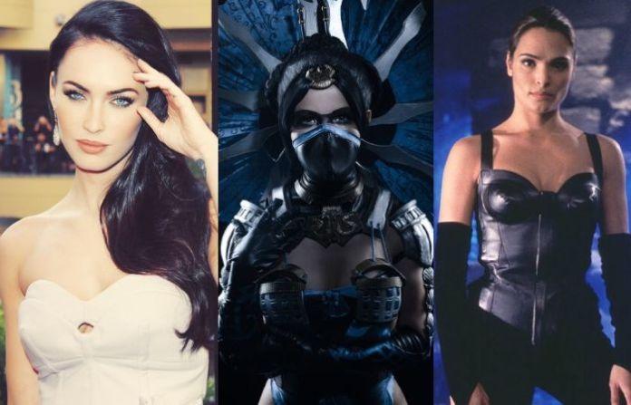Megan Fox as Kitana - Mortal Kombat movie