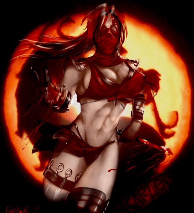 Scarlet Mortal Kombat Girls